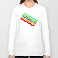 bacon Long Sleeve T-shirts featuring Bacon by Roberlan Borges