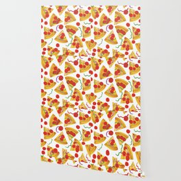 Pizza Slices Wallpaper