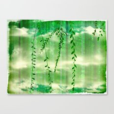 Green Genesis Canvas Print
