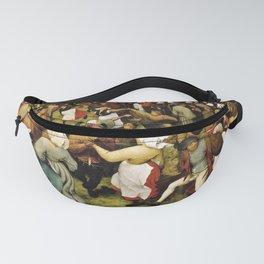 Pieter Bruegel The Elder - The Wedding Dance Fanny Pack