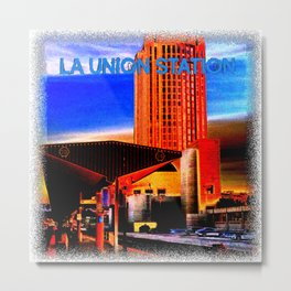Within Union Station LA (The Dark Side of Art) by Jeronimo Rubio Photography 2016 Metal Print