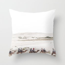horse by Jamie Davies Throw Pillow