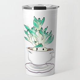 Cute Succulent Travel Mug
