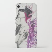 marilyn iPhone & iPod Cases featuring Marilyn  by Aggelikh Xiarxh