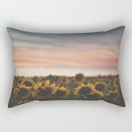 Oahu's Sunflowers Rectangular Pillow