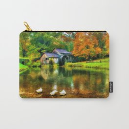 Autumn at the Mill Carry-All Pouch
