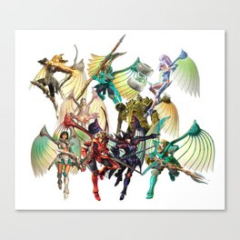 Legend of Dragoon Dragoons Canvas Print