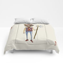 Jack of Diamonds Comforters