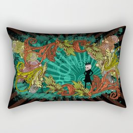 Party Devil Rectangular Pillow