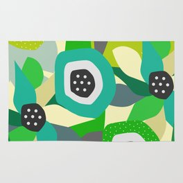 Bright tropical vibe Rug