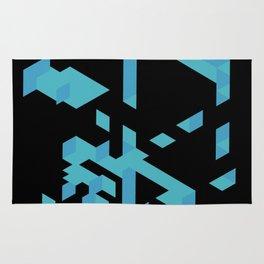 Blue xx Rug