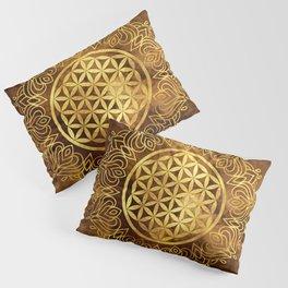 Flower Of Life (Earthy) Pillow Sham