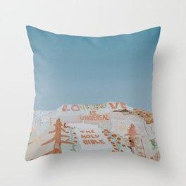 Salvation Mountain XIII / Slab City, California Throw Pillow