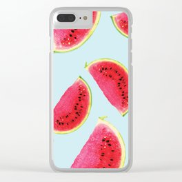 Watermelon #society6 Clear iPhone Case