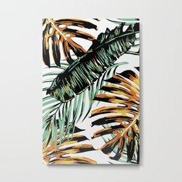 Colorful Tropical Metal Print