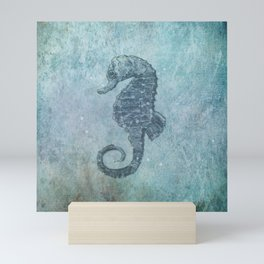 sea & horse Mini Art Print