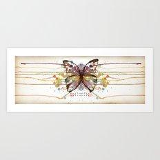 Colorfly Art Print
