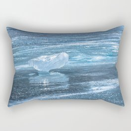 Ice diamond of Baikal Rectangular Pillow