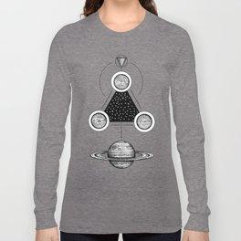 Misterium Saturnia Long Sleeve T-shirt