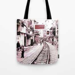 The train is coming soon.... Tote Bag