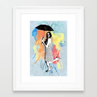 water color Framed Art Prints featuring Water Color by Bill Pyle