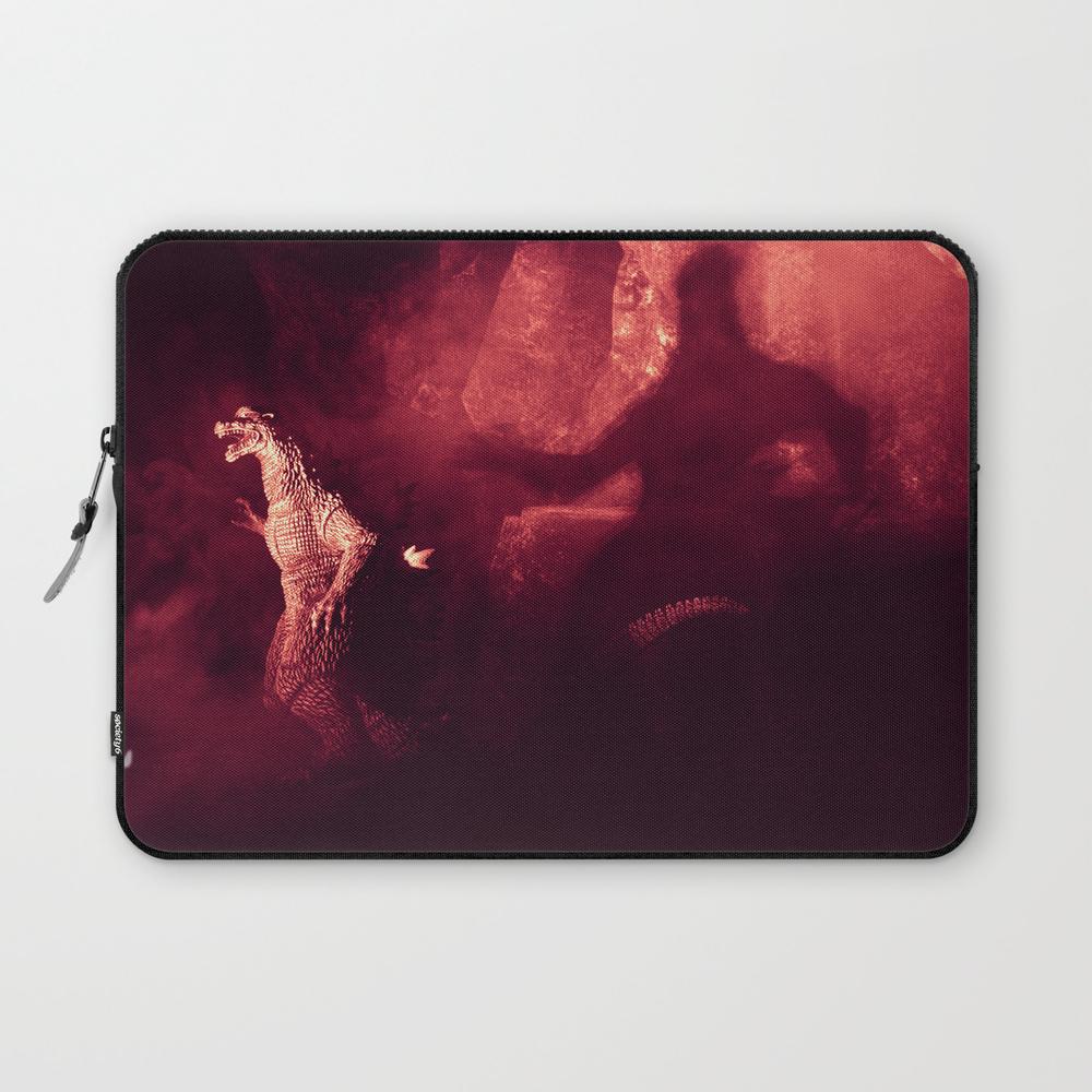 Afraid Of The Shadows Godzilla Action Figure Photo… Laptop Sleeve LSV8616968