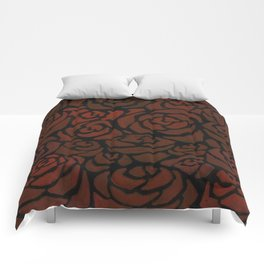 Cluster of Roses Comforters