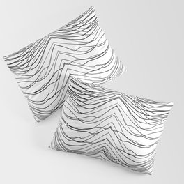 Abstract Line Pillow Sham