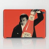 vegetarian iPad Cases featuring Vegetarian Vampire by Karolis Butenas