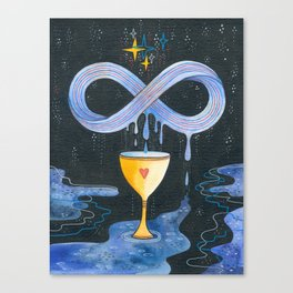 Infinity juice Canvas Print