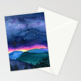 Good Night Smoky Mountains Stationery Cards
