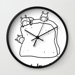 bread for all Wall Clock