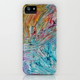 Rainbow Gelato iPhone Case