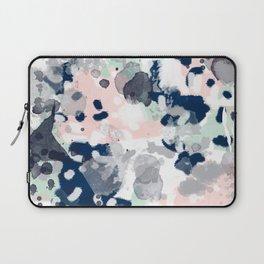 Tate - abstract modern minimal painting art nursery baby office home decor minimalist modern nursery Laptop Sleeve