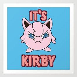 It's Kirby Art Print