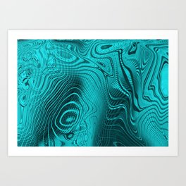 Whirlpool Waters Art Print