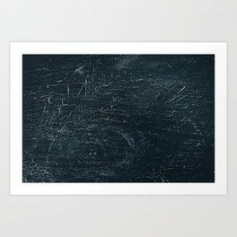 Wooden Dark Art Print
