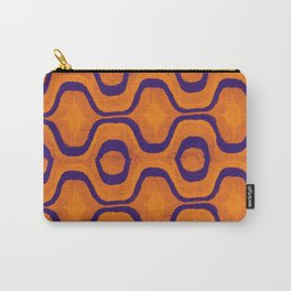 HOMEMADE SEVENTIES ORANGE PATTERN Carry-All Pouch