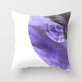 Mystical Powers of Amethyst #society6 Throw Pillow