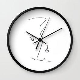 Demeter Moji d23 4-3 w Wall Clock