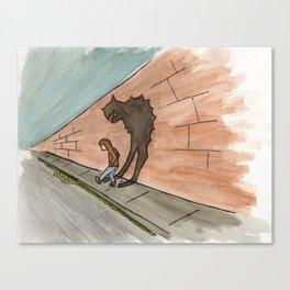 Inner Monster Canvas Print
