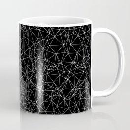 DELAUNAY TRIANGULATION b/w Coffee Mug