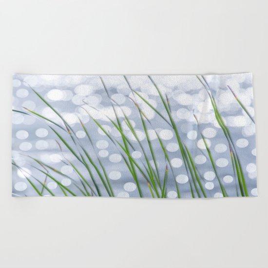 Bed of reeds  Beach Towel