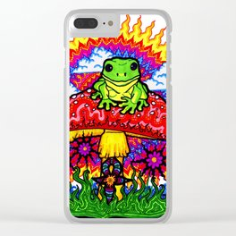 Froggy For Mukunda Clear iPhone Case