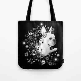 Flower Goddess Frenchie Tote Bag