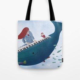 Ponyo fanart Tote Bag