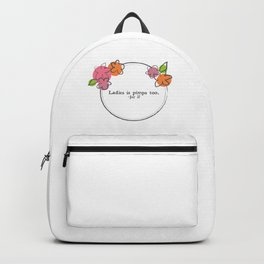 Floral - Ladies Backpack