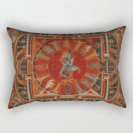 Nine-deity Mandala of Two-armed Hevajra Rectangular Pillow