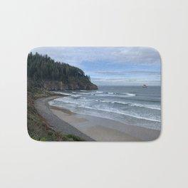Cape Meares Beach, Tillamook, Oregon Bath Mat