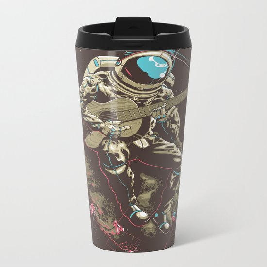 Lonely Man Metal Travel Mug